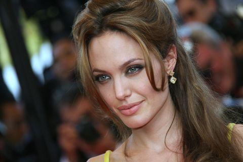 US actress Angelina Jolie poses 24 May 2...