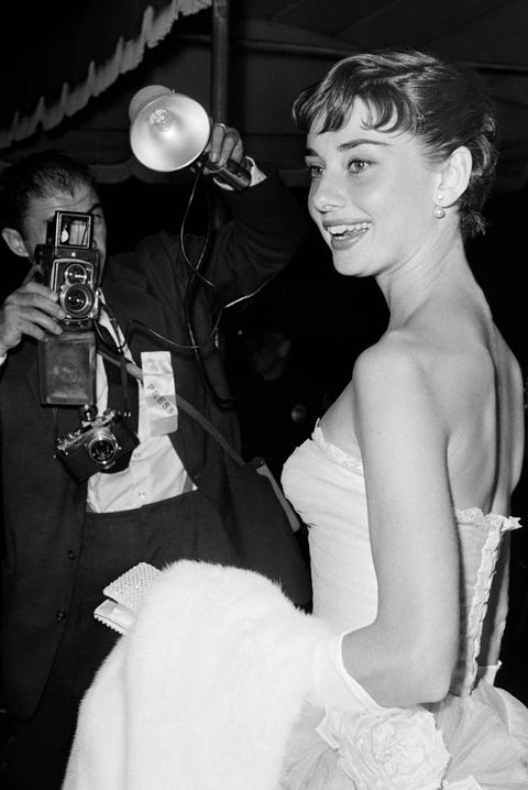 Audrey At 'Roman Holiday' Benefit Premiere