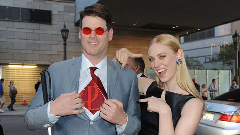 "premiere of netflix's ""marvel's daredevil""   red carpet"