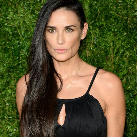 Demi Moore at the12th Annual CFDA/Vogue Fashion Fund Awards - Arrivals