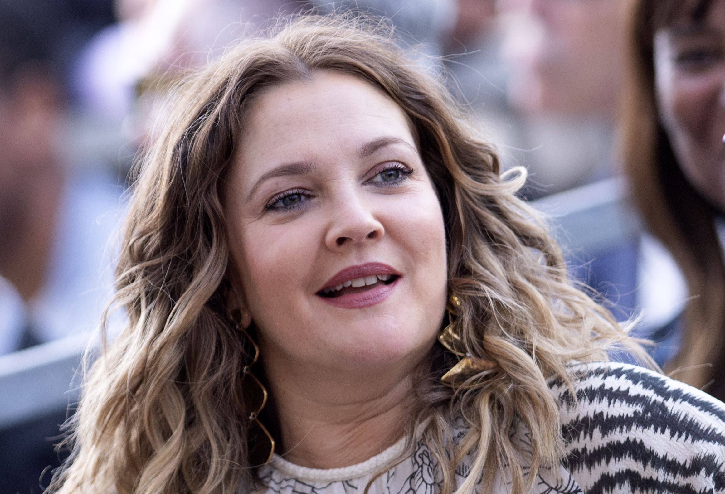 Drew Barrymore's Children Got Pet Mice And She Posted A Video Of One Crawling In Her Hair