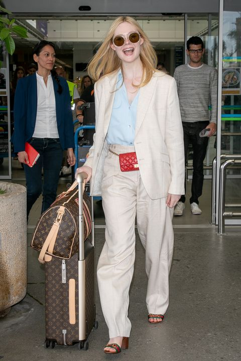 Celebrity Sightings At Nice Airport - The 72nd Annual Cannes Film Festival