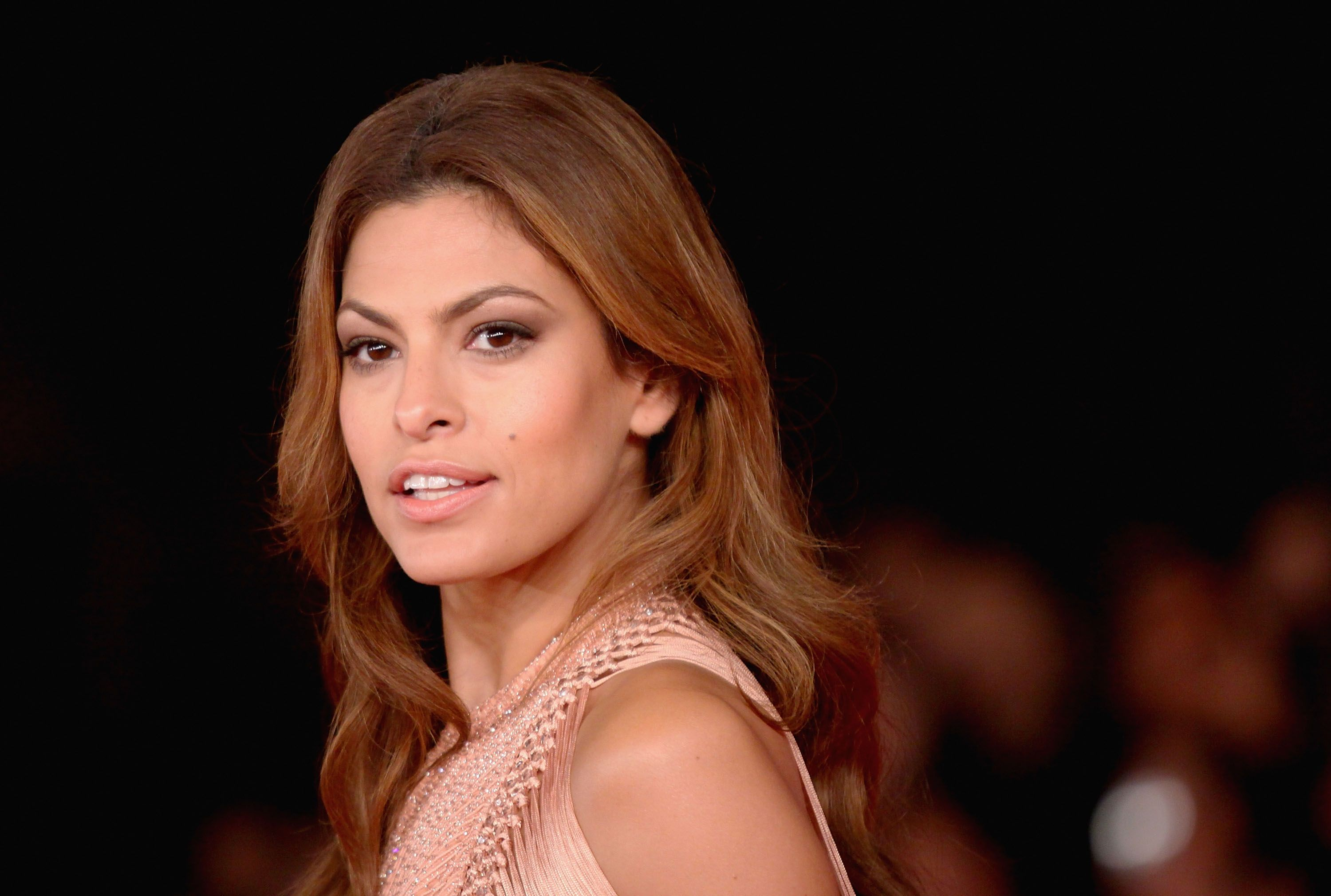 """Why Eva Mendes Hasn't Been in a Movie Since 2014: """"I Have to Set an Example for My Girls"""""""