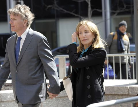 Felicity Huffman Appearing in Federal Court in Boston on Wednesday, April 3