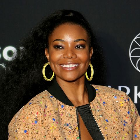 Gabrielle Union's Makeup-Free Bikini Selfie Makes 46 Look Amazing