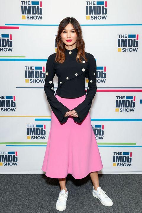 Gemma Chan Visits The IMDb Show