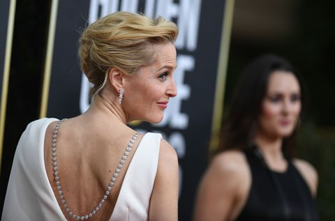 back necklace gillian anderson