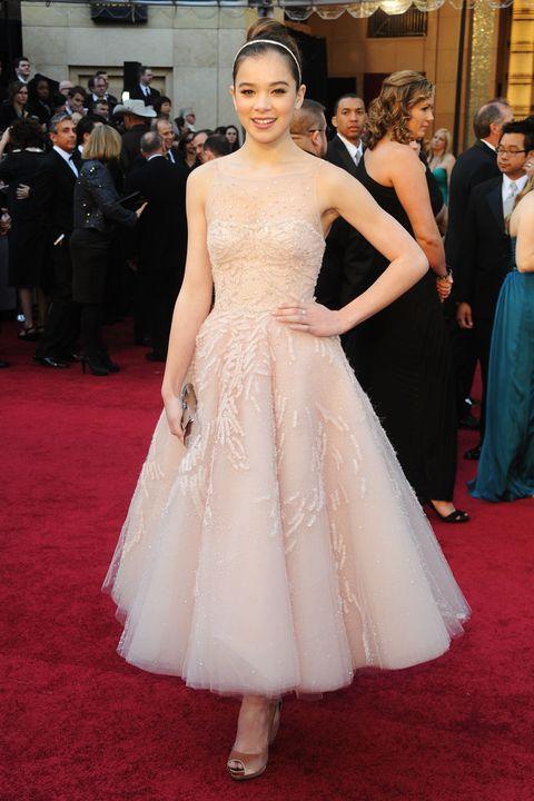 celebrity first oscar dress