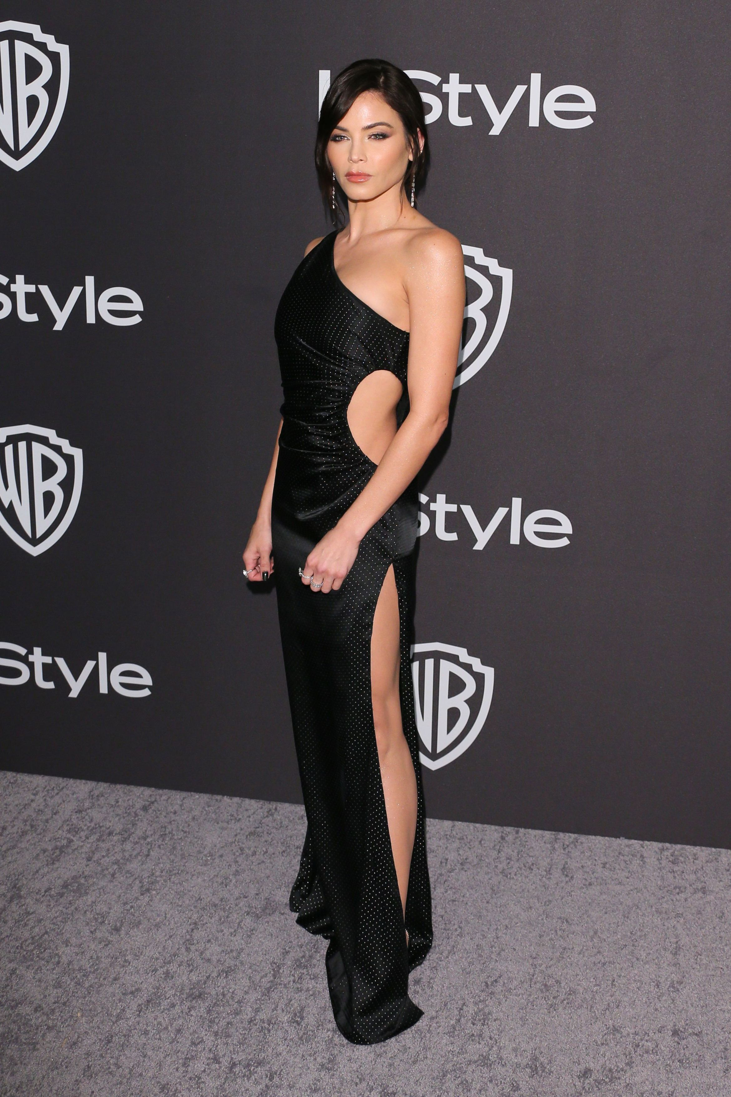 Jenna Dewan Dewan attended the InStyle and Warner Bros.