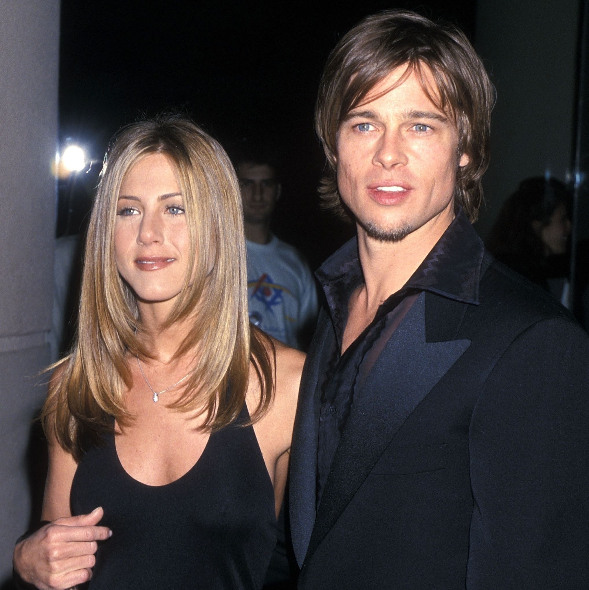"""Jennifer Aniston and Brad Pitt Jen and Brad were the It couple of the early '00s, so it shocked everyone when they announced in  2005 that they were splitting. The two claimed in a joint statement at the time that their breakup was not the result of """"speculation reported by the tabloid media."""""""