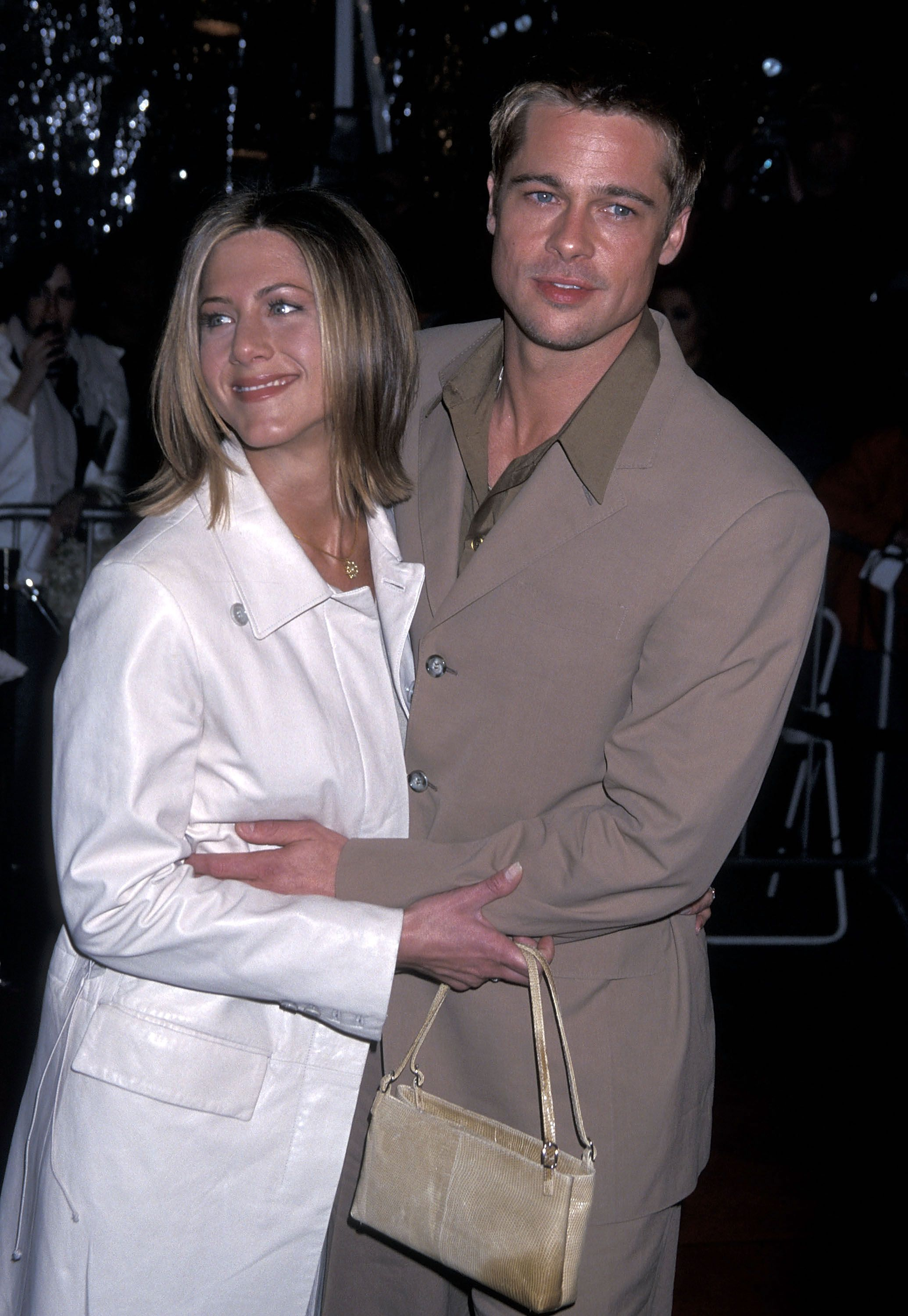 Brad Pitt Went To His Ex Wife Jennifer Aniston S Holiday Party And Stayed Late