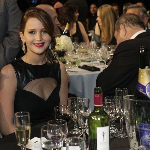 champagne nicolas feuillatte at the critics' choice movie awards 2013