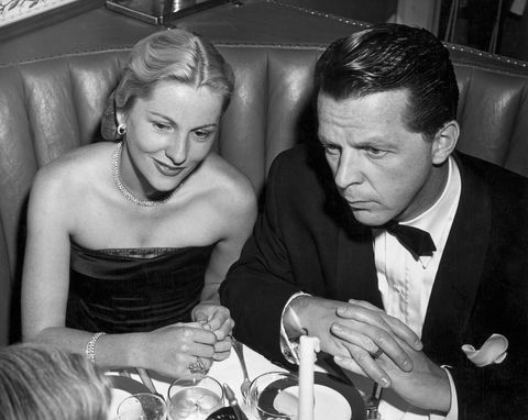 Joan Fontaine with Husband William Dozier