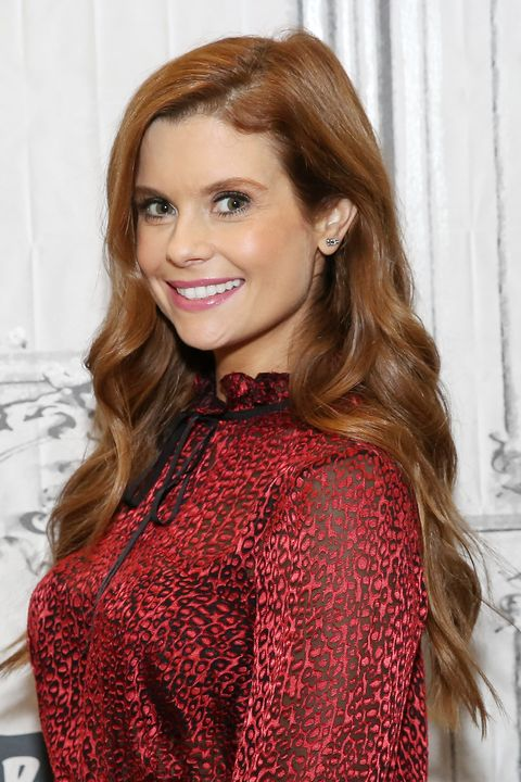"build presents joanna garcia swisher discussing the show ""kevin probably saves the world"""