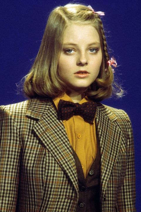 Actress Jodie Foster On French TV Set