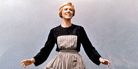 Julie Andrews in 'Sound Of Music' - 20th Century Fox - Released March 2, 1965