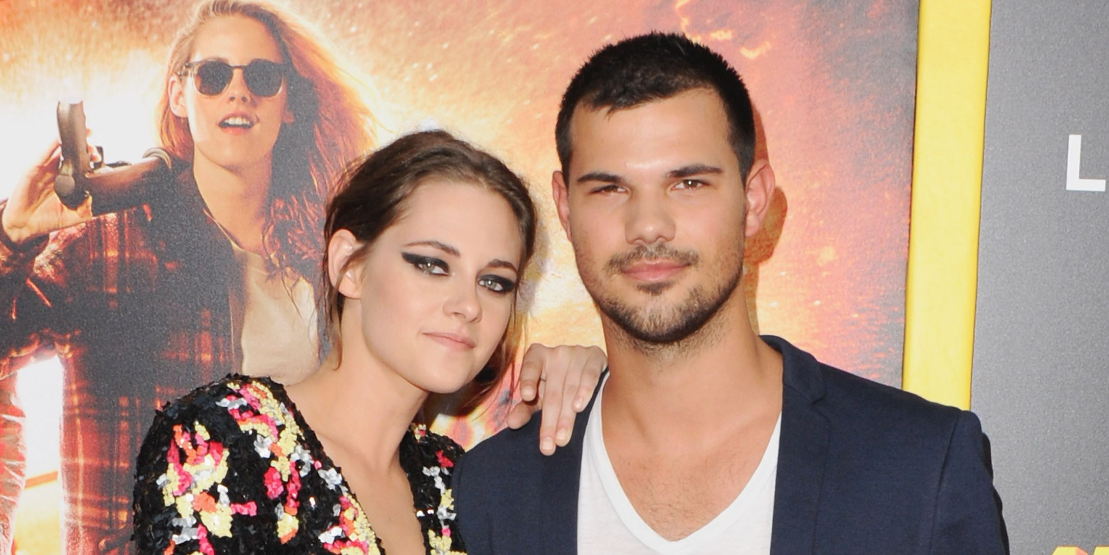 "Kristen Stewart and Taylor Lautner Just Had a Mini ""Twilight"" Reunion, But Where Was Robert Pattinson?"