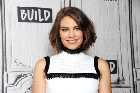 From 'The Walking Dead' to Flirting With OG Bae Scott Foley, Lauren Cohan Is Having a Moment