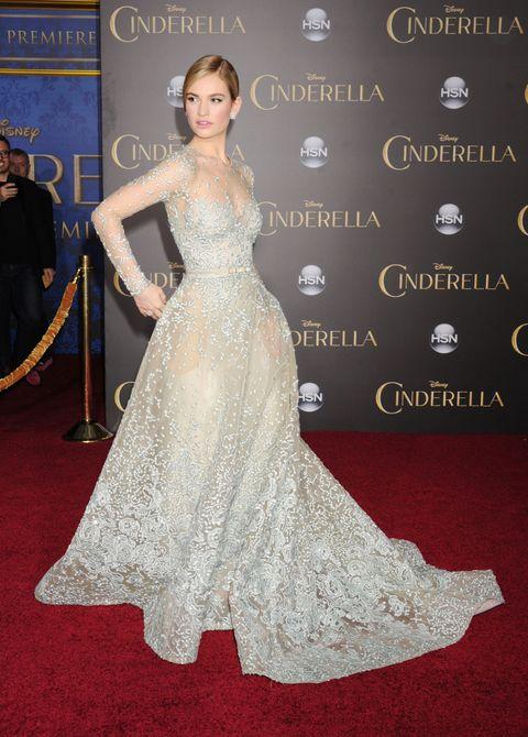"""world premiere of disney's """"cinderella"""""""