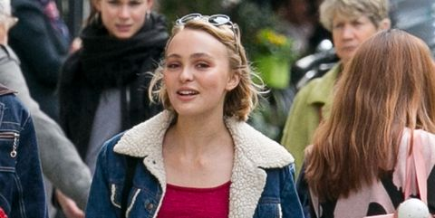 lily rose depp sighting in paris     september 24, 2015