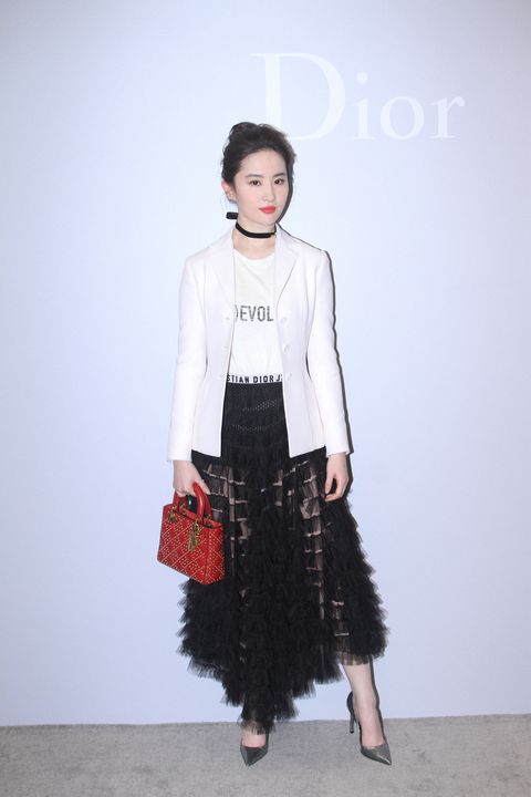 Liu Yifei Attends Commercial Event In Beijing
