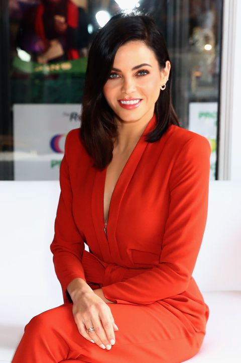 Jenna Dewan At The Savvy Minerals Sip & Lip Bar