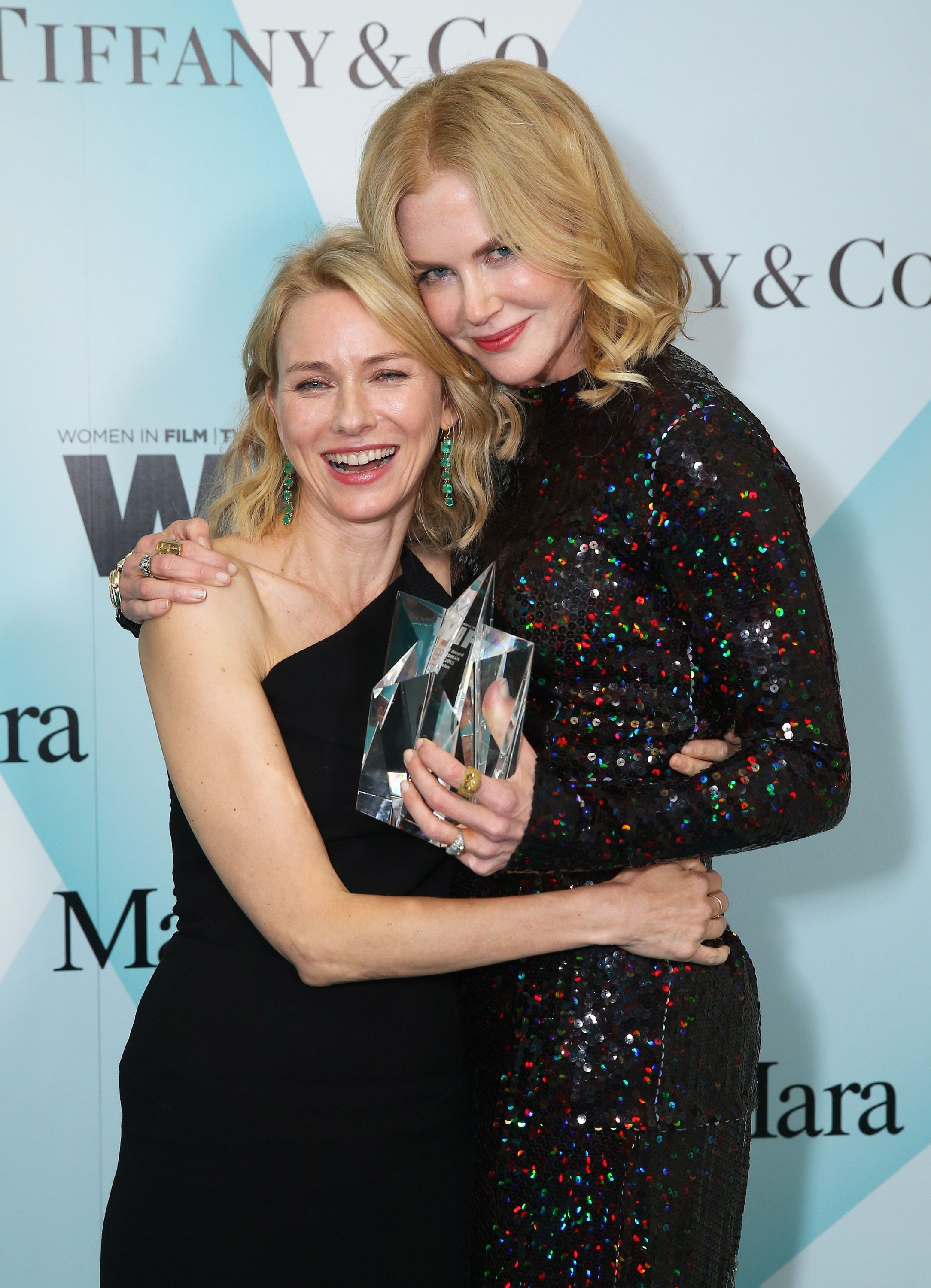 Naomi Watts & Nicole Kidman Watts and Kidman have been friends for more than 25 years, and they'll happily gush about each other. They've only worked together once, for 1991's Flirting, but their friendship has withstood the test of time.