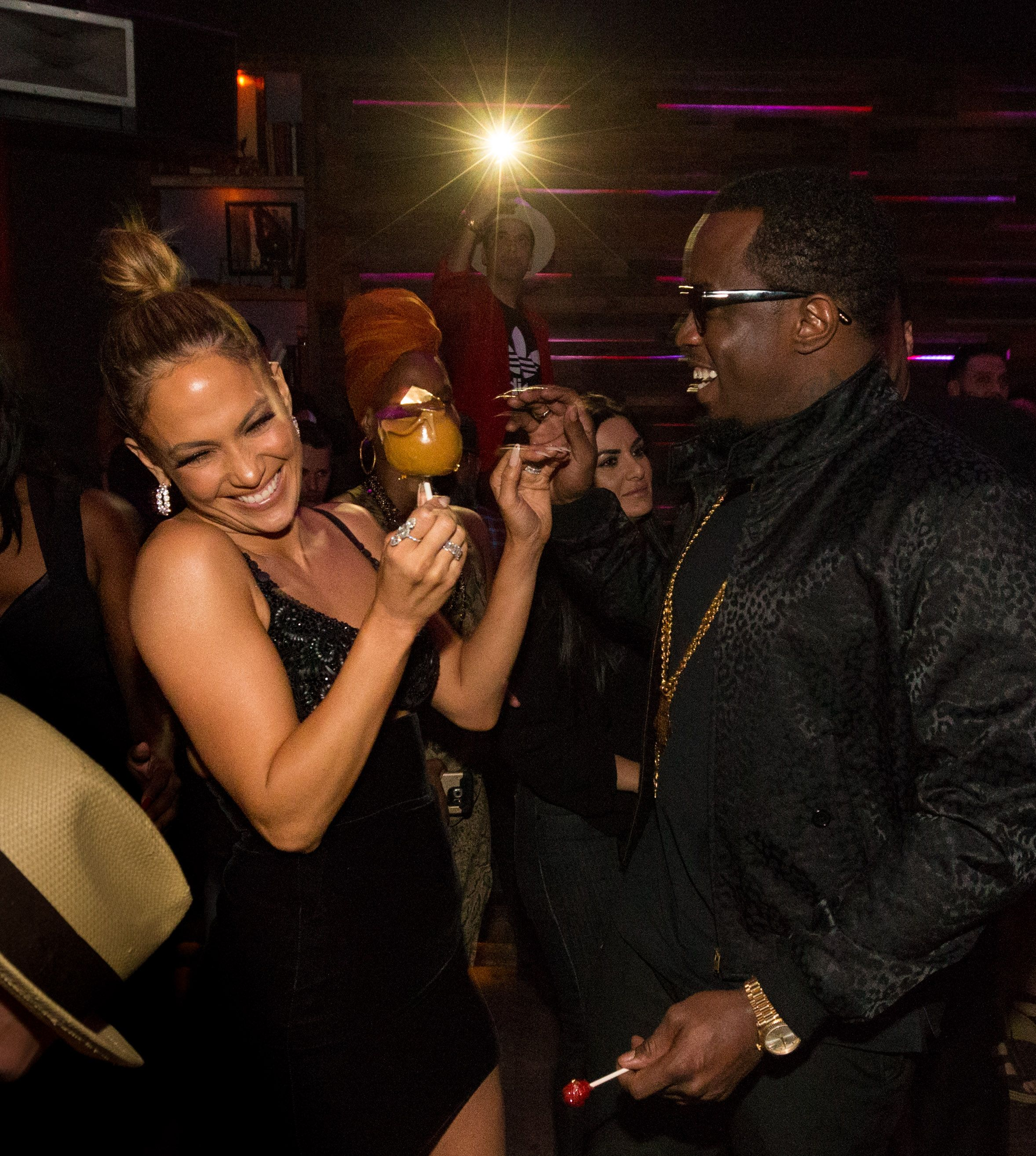 Jennifer Lopez's Ex Diddy Posts Thirsty Comment on Her Instagram - J.Lo and Diddy's Relationship After Dating