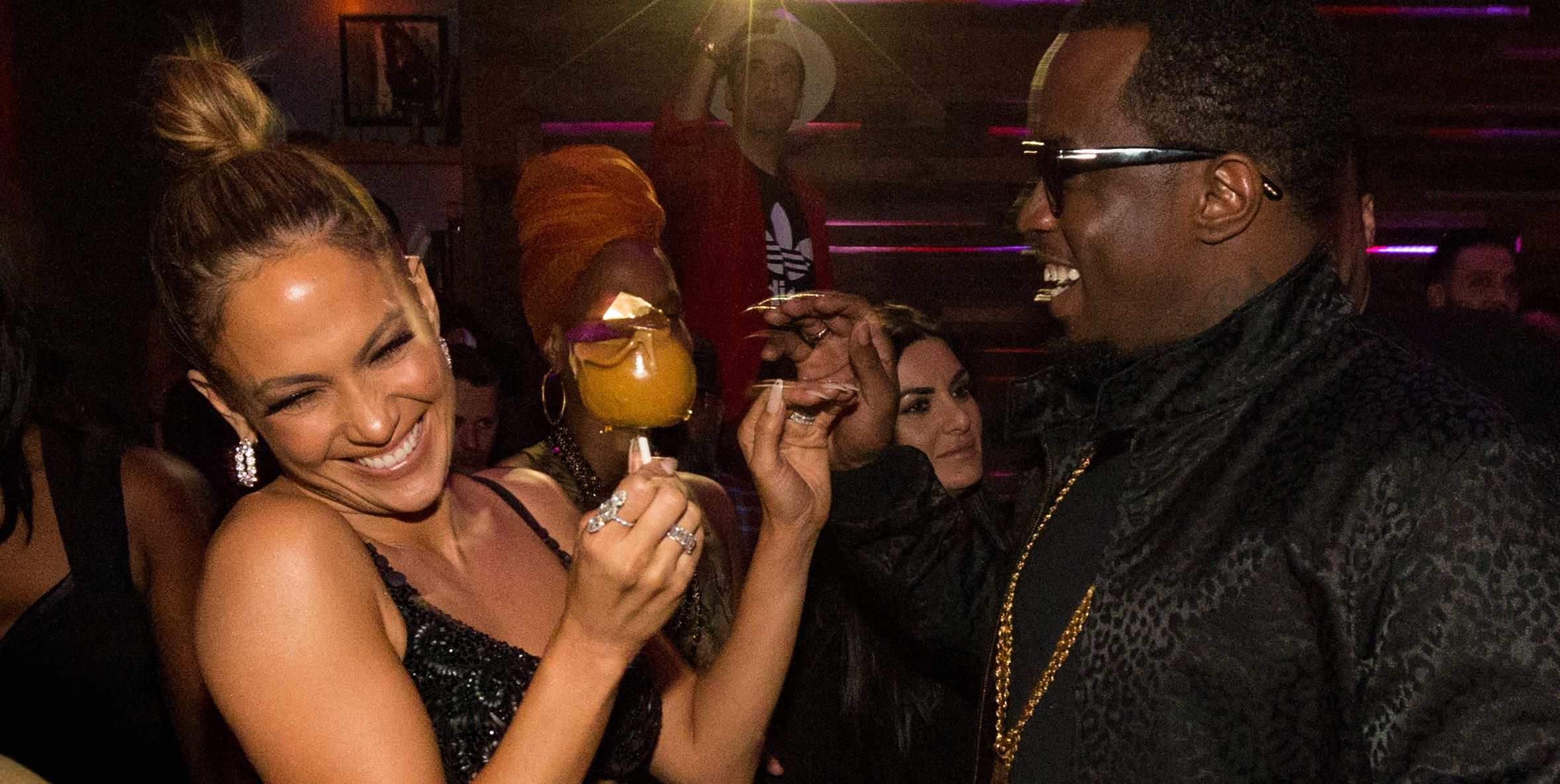 Jennifer Lopez and Diddy in 2015