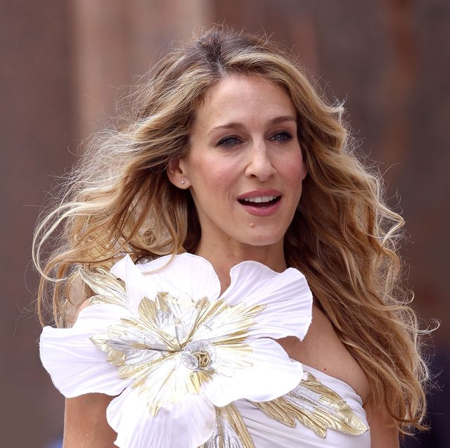 """sarah jessica parker on location for """"sex in the city the movie""""   september 21, 2007"""