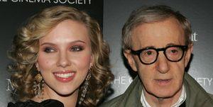 Scarlett Johansson en Woody Allen