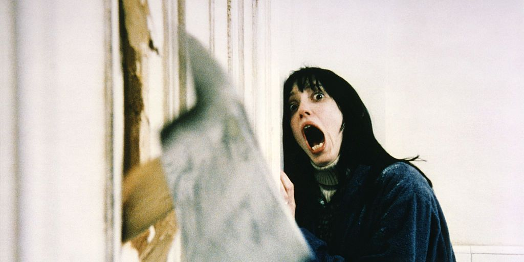 On the Set of 'The Shining'