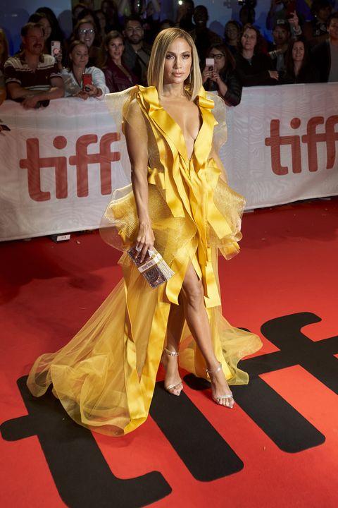 jennifer lopez yellow dress-FILM-FESTIVAL-TIFF