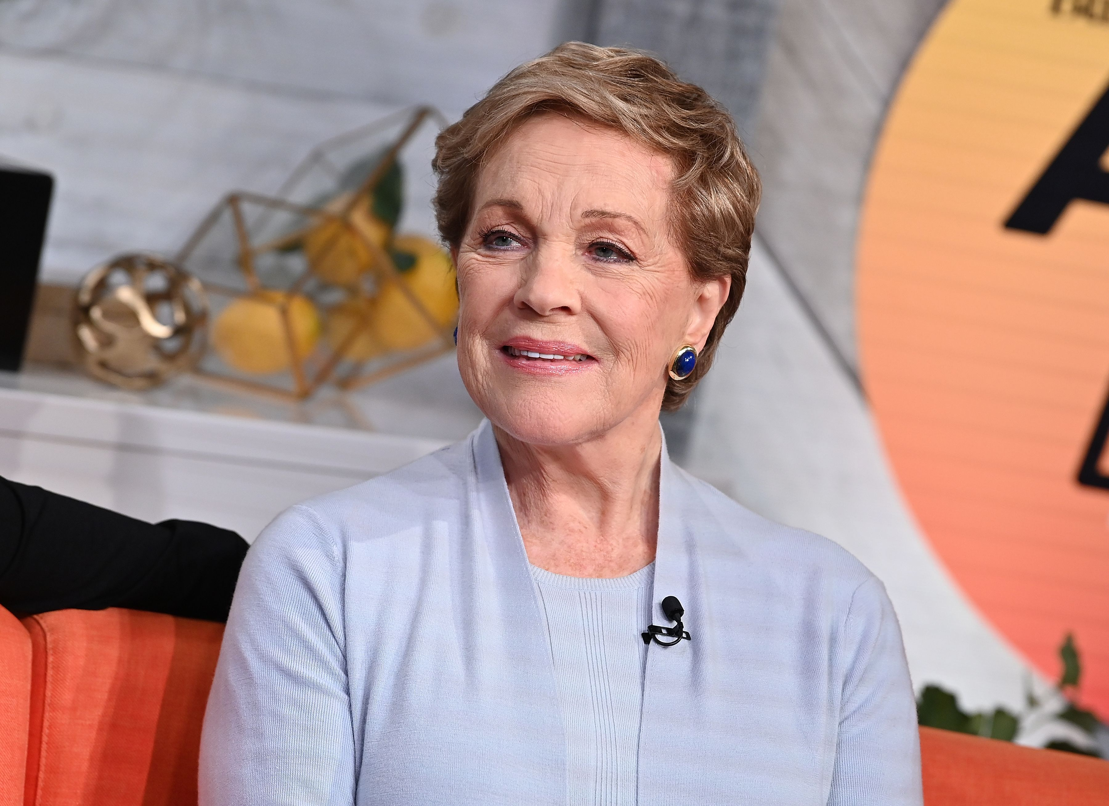 Julie Andrews launches Julie's Library podcast series