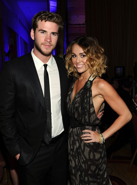 22fa41f86 Miley Cyrus and Liam Hemsworth's Relationship Timeline - A Guide to ...