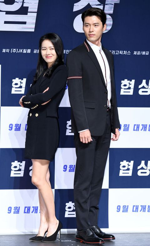 film 'the negotiation' press conference in seoul