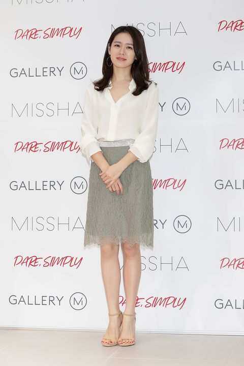 son ye jin autograph session for missha