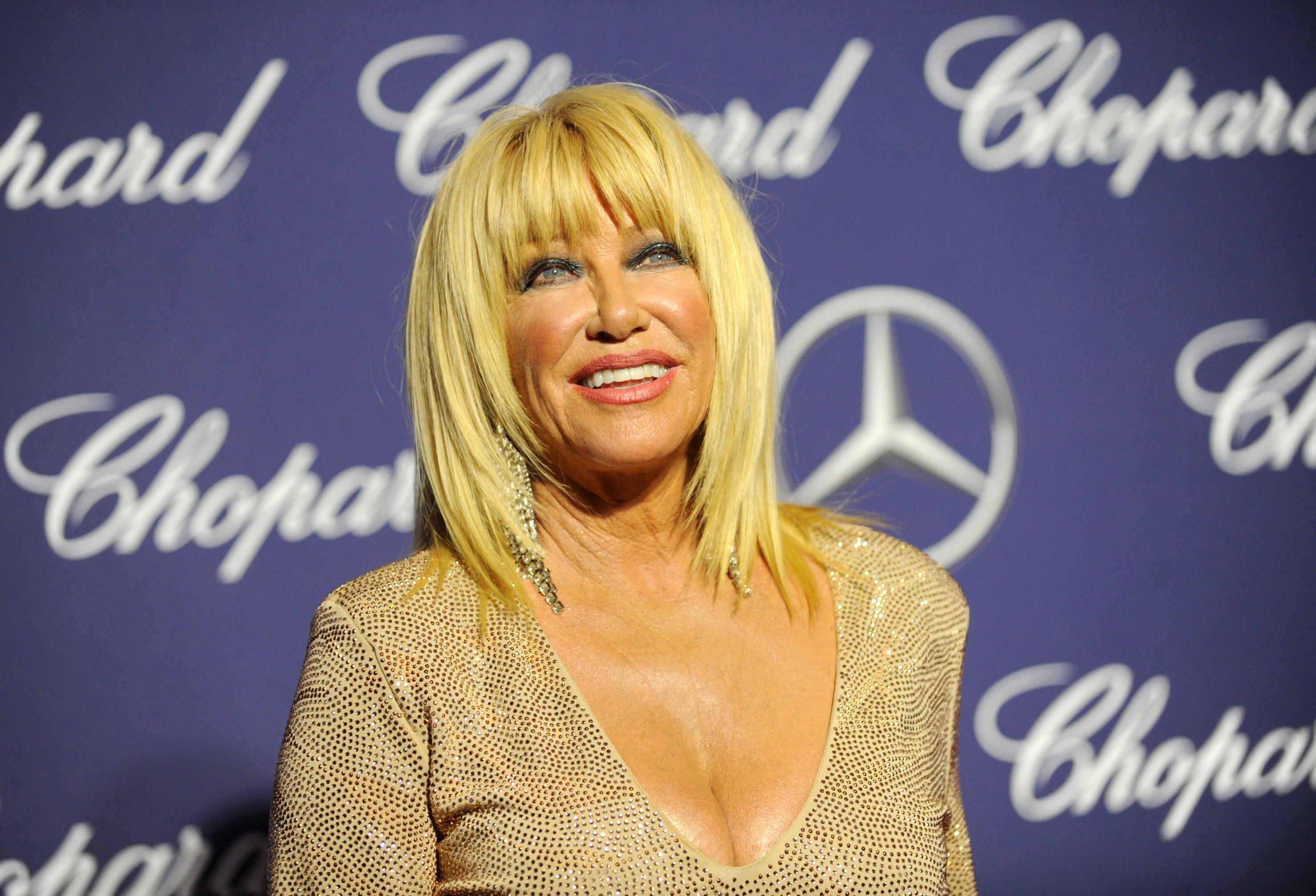 """Suzanne Somers Shares How She Stays """"Sexy, Happy, and Healthy"""" at 73"""