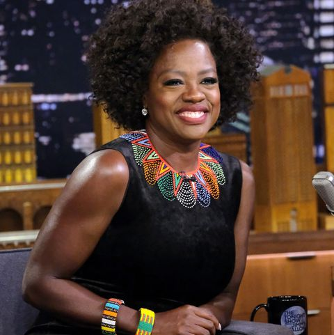 Viola Davis Visits 'The Tonight Show Starring Jimmy Fallon'