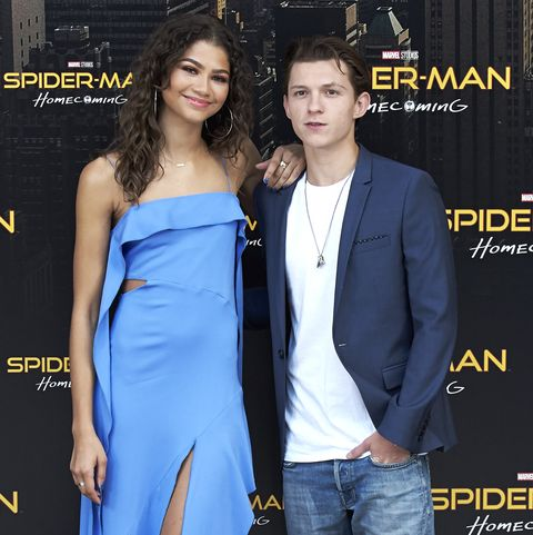 9a68ef98ce76 'Spider-Man: Homecoming' Madrid Photocall. Carlos AlvarezGetty Images.  Spider-Man: Homecoming co-stars Zendaya and Tom Holland have ...