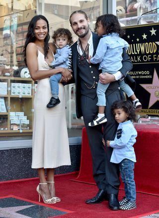 Zoe Saldana And Marco Perego S Sweet Love Story Life As