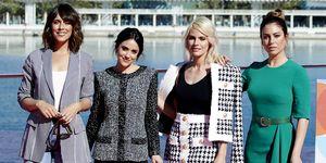 Belén Cuesta, Macarena García, Amaia Salamanca y Blanca Suárez presentan en el Festival de Málaga 'A pesar de todo'