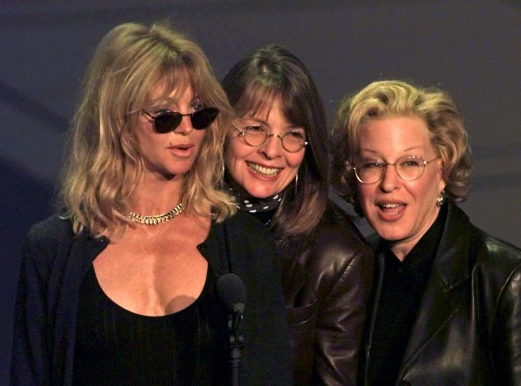 Goldie Hawn, Diane Keaton, and Bette Midler Are Reuniting for a New Movie