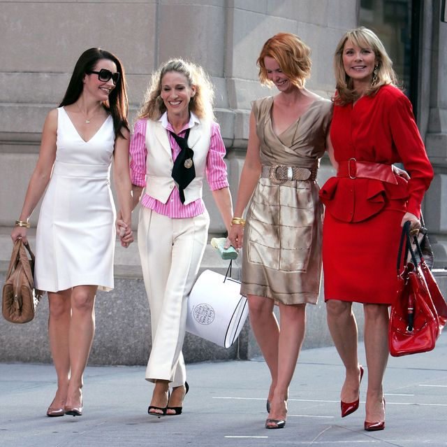 """on location for """"sex and the city the movie""""   september 21, 2007"""