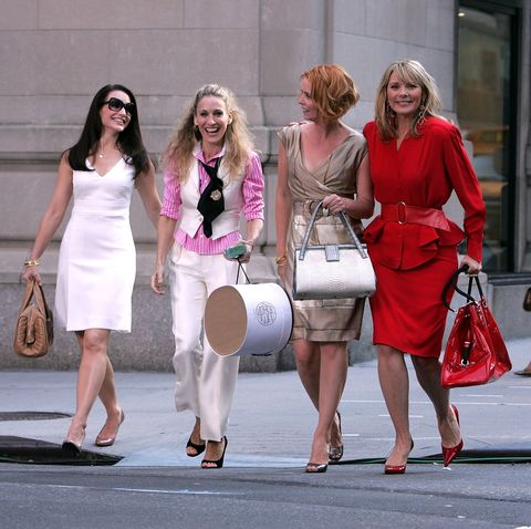 On Location for 'Sex and the City: The Movie' - September 21, 2007