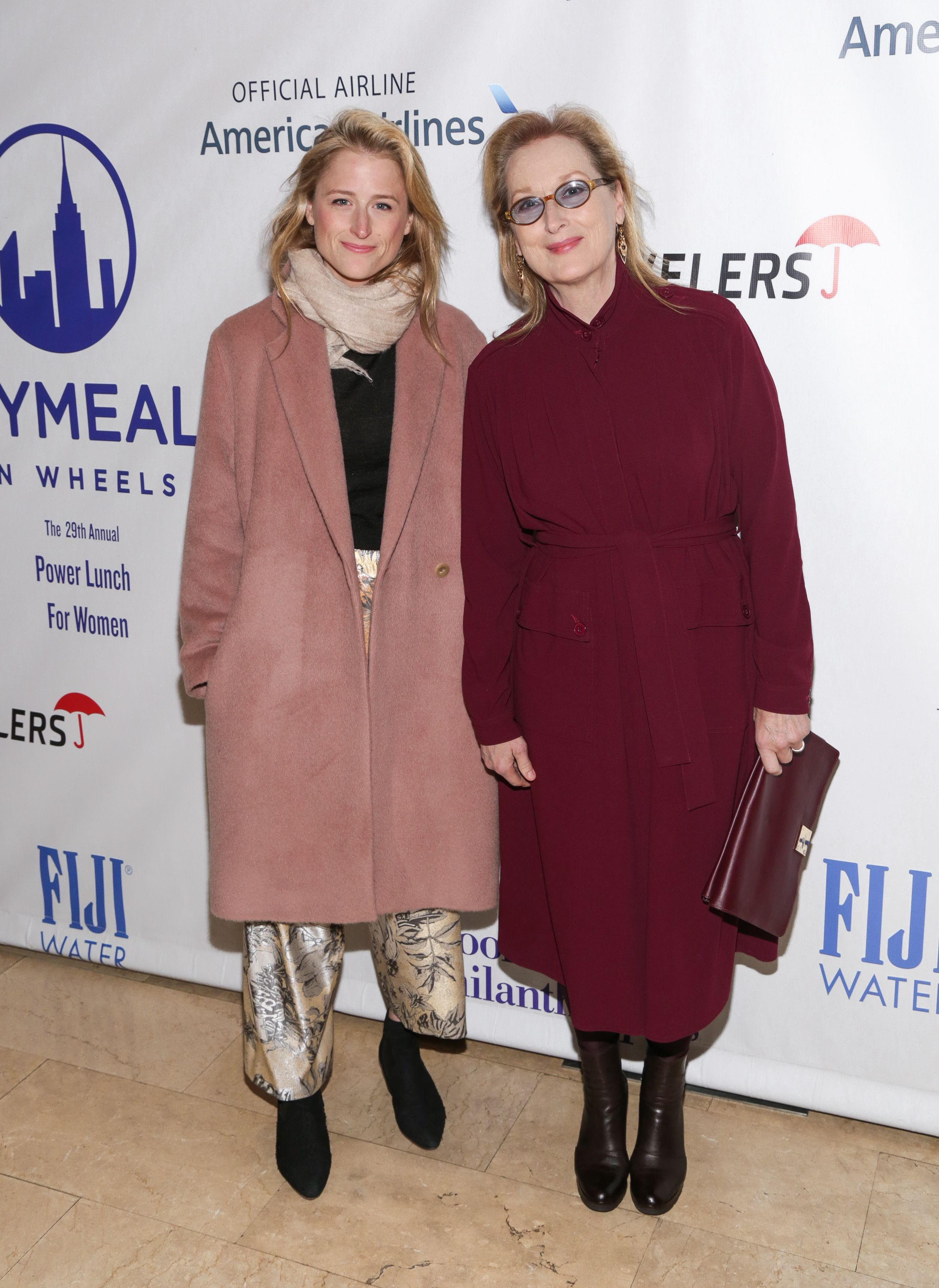 Her daughter Mamie Gummer is pregnant with her first child.