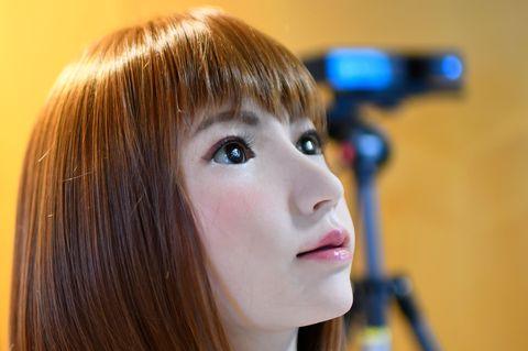 erica, actriz robot nipona