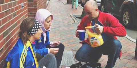 Acts of Kindness at Boston Marathon 1
