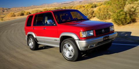 Acura SLX, Once Known as Rollover Risk, Gets Restomodded for '90s-Themed Radwood Show