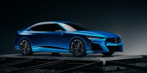 Acura's Type S Concept Is an Exciting Preview of Future Performance Models